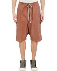 DRKSHDW by Rick Owens Drop-Rise Pod Boxer Shorts - Lyst