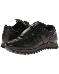 Alexander McQueen Black Runner Sneaker - Lyst