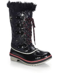Sorel | Tofino Quilted Water-Resistant Boots | Lyst