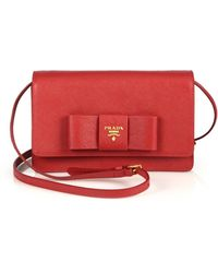 prada vela tote - Shop Women\u0026#39;s Prada Clutches | Lyst