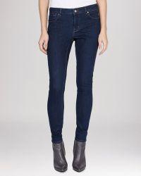 Karen Millen Jeans - Super Skinny In Dark Denim - Lyst
