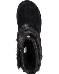 Ugg | Vilet Embellished-Suede Boots | Lyst