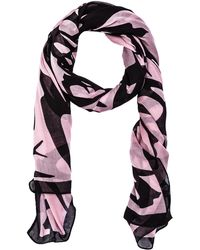 McQ by Alexander McQueen Pink Swallow Scarf - Lyst