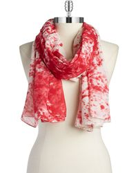 William Rast - Splatter Scarf - Lyst