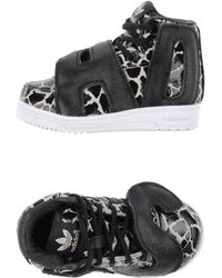 Jeremy Scott for Adidas Low-Tops & Trainers black - Lyst