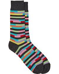 Richard James | Broken-stripe Mid-calf Socks | Lyst
