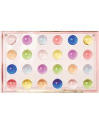 Mary Katrantzou | Small Box Clutch Dots White | Lyst