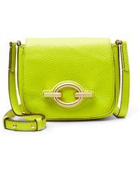 Diane von Furstenberg Sutra Cafe Mini Leather Crossbody Bag - Lyst