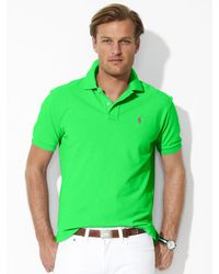 Polo Ralph Lauren Classic-Fit Mesh Polo - Lyst
