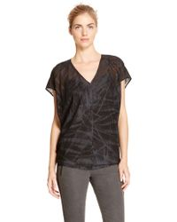 DKNY Pure Abstract Cocoon Top. - Lyst