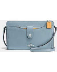 COACH | Messenger With Pop-up Pouch In Colorblock Leather | Lyst