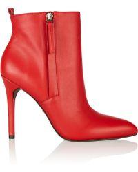 Pour La Victoire Zane Leather Ankle Boots - Lyst