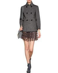 DSquared² Wool Blend Double-Breasted Jacket - Lyst