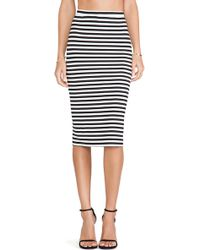 Lovers + Friends Day To Night Pencil Skirt - Lyst