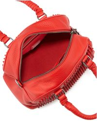 Christian Louboutin Panettone Small Spiked Satchel Bag red - Lyst