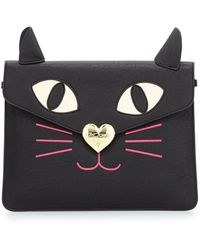 Betsey Johnson Kitchi Cat Clutch Bag - Lyst