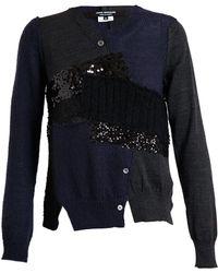 Junya Watanabe Woolblend Patchwork Knit - Lyst