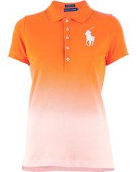 Ralph Lauren Purple Label - Logo Polo Shirt - Lyst