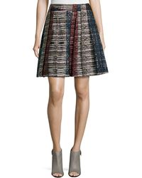 Risto - Pleated Knit Skirt - Lyst