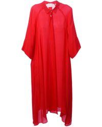 Forte Forte Asymmetric Shirt Dress - Lyst