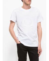 A.P.C. Paris 87 T-Shirt white - Lyst