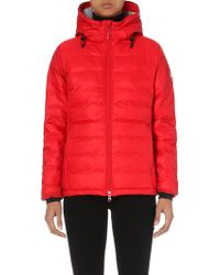 canada goose womens camp down jacket