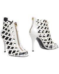 Balmain Ankle Boots - White