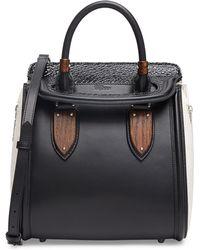 Alexander McQueen Heroine Small Satchel Bag - Lyst