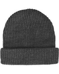 Topshop Easy Knit Beanie - Lyst
