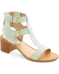 ModCloth Candymaking Conference Heel green - Lyst