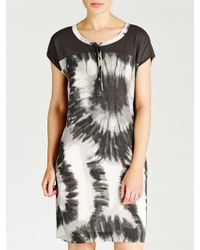 Sandwich - Tie Dye Crepe Dress - Lyst