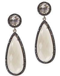 Susan Hanover - Smoky Quartz Drop Earrings - Lyst