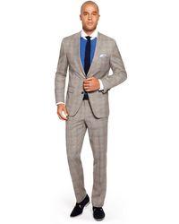 Hugo Boss The James Sharp  Regular Fit Super 120 Italian Virgin Wool Suit - Lyst