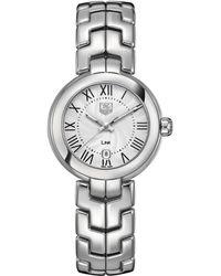 Tag Heuer Ladies Link Stainless Steel Watch - Metallic