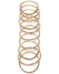 Forever 21 - Rhinestoned Bracelet Set - Lyst