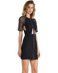 Suboo Lace Sleeved Dress - Lyst