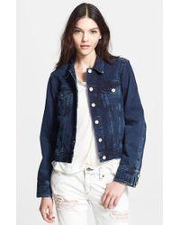 Rag & Bone 'The Jean' Denim Jacket - Lyst