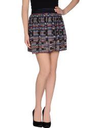 Proenza Schouler Mini Skirt - Lyst