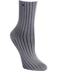 Calvin Klein Ribbed Crew Socks - Lyst