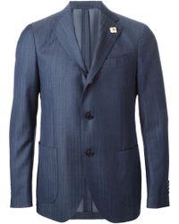 Lardini Striped Two-Piece Suit - Lyst