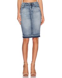 Blank NYC Pencil Skirt - Lyst