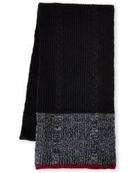 True Religion Cable Knit Scarf - Lyst