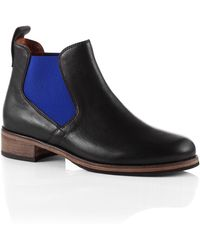 BOSS Orange - Chelsea Boots Sigrid in Leather - Lyst