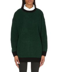 Chocoolate - Knitted Jumper with Removable Collar - Lyst