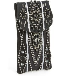 Berry - Beaded Sunglasses Case - Lyst