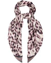 Lara Bohinc - Leopard-print Modal and Cashmere-blend Scarf - Lyst