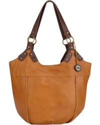 The Sak Indio Leather Large Tote - Lyst