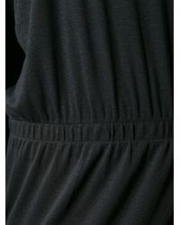Hope - Draped-Detail Cotton-Blend Dress - Lyst