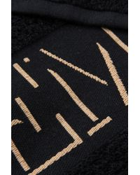 Emporio Armani Beach Towel - Black