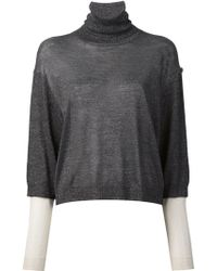 3.1 Phillip Lim Layered Sleeves Top - Lyst